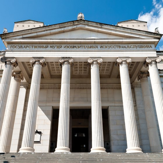 Famous Art Museums in Russia