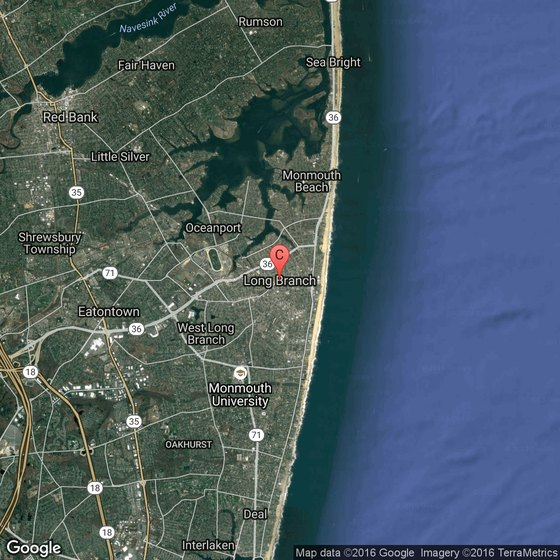 Attractions in Long Branch New Jersey – New Jersey Tourist Attractions Map
