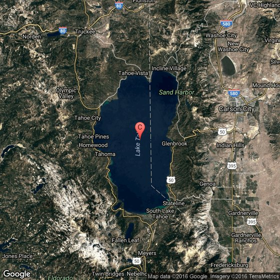 Attractions in Zephyr Cove Nevada – Lake Tahoe Tourist Attractions Map
