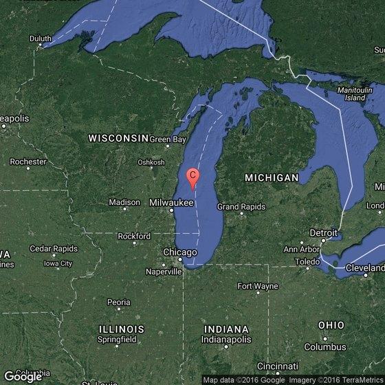 Fishing charters for lake michigan in michigan city for Take me fishing lake locator
