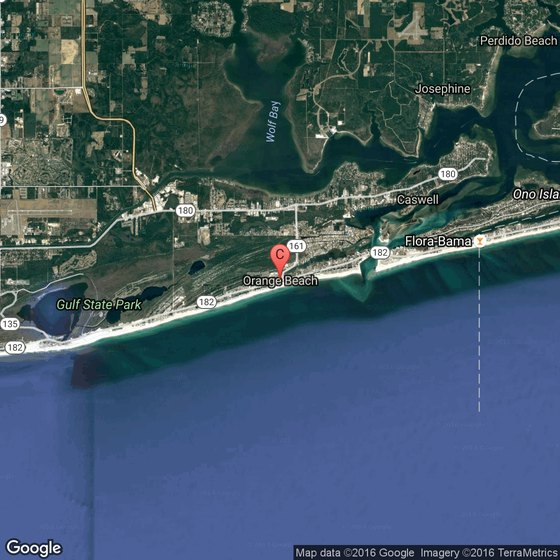 Tourist Attractions in Orange Beach Alabama – Alabama Tourist Attractions Map