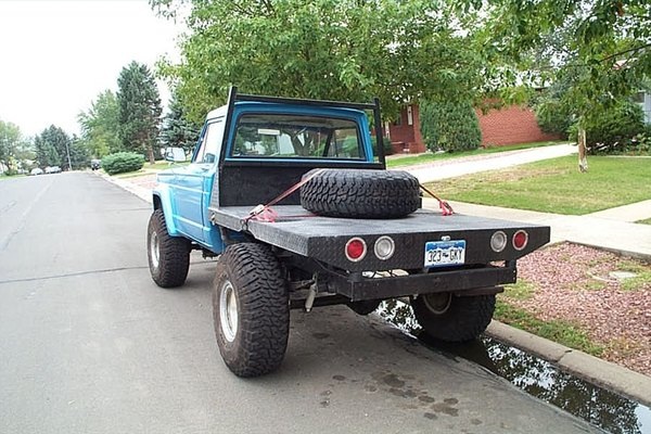 New Jeep Pickup >> How to Build a Flat Bed for Pickup Truck | It Still Runs