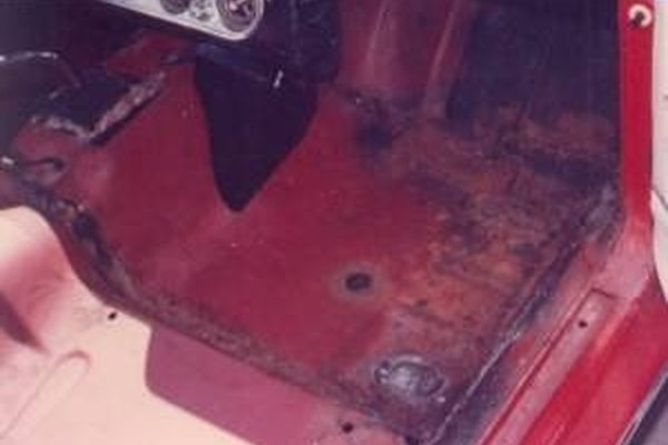 how to repair a hole in the floor of a car it still runs