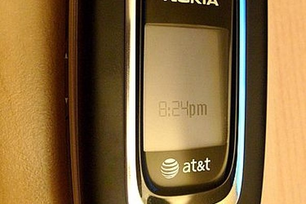 One of the many models of cell phones available