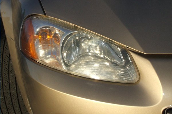 how to clean plastic headlight lens