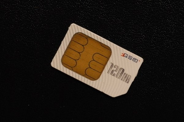 Unlock your SIM card by typing in a special code.