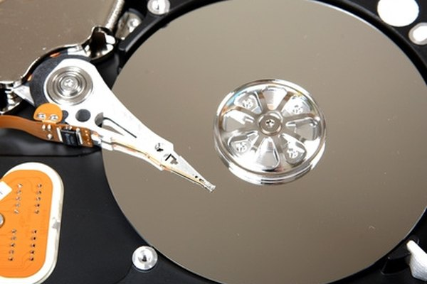 The hard drive in your computer can be accessed.