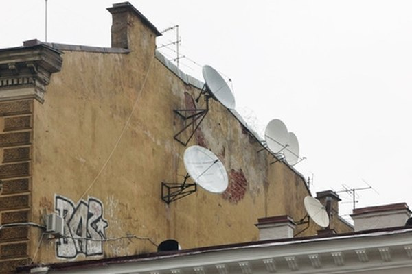 Bell satellite in multiple locations