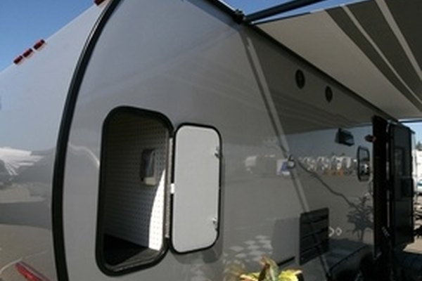 Travel Trailer Exterior Electrical Connects