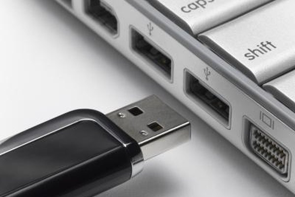 With a USB drive, you can install an OS and boot your computer.