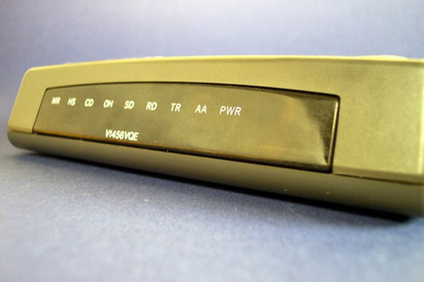 A number of fast modems are available that use different connections.