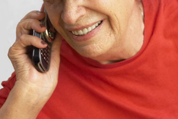 Locating an elderly parent is possible through GPS mobile phone tracking.