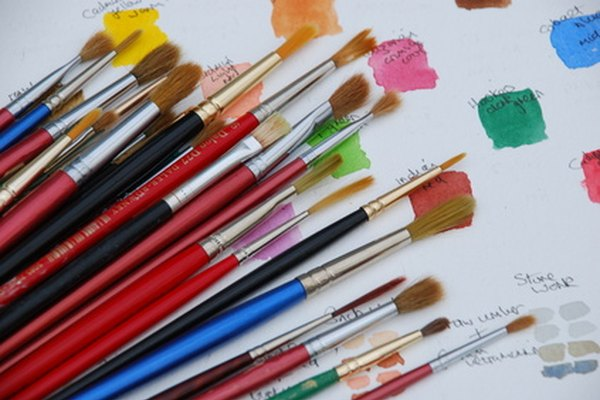 The MS Paint program icon is a series of colored paintbrushes.