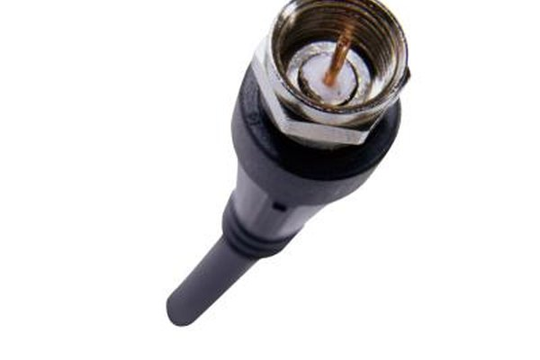 Coaxial cable passes lower frequencies better than higher frequencies.