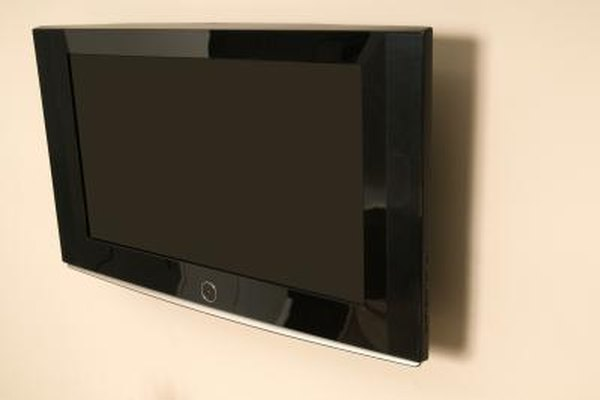 Follow manufacturer instructions when mounting your TV on the wall.
