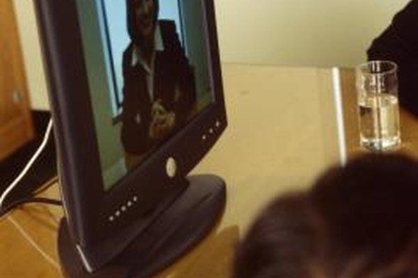 Use video conferencing to meet with business associates around the world.