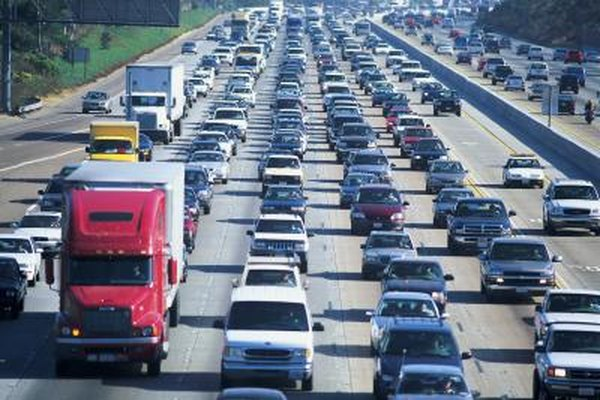 A network traffic jam could be the cause of your frustration.