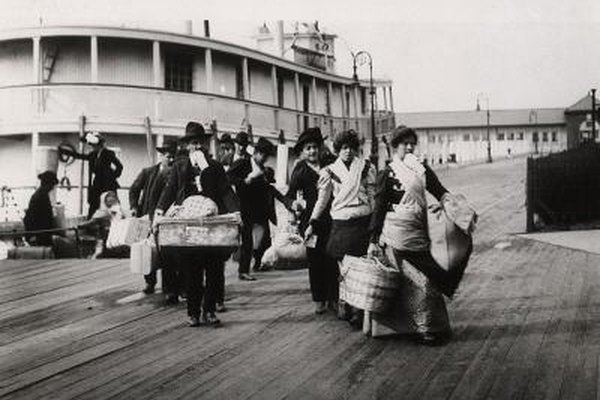 Find information about your ancestors through the records at Ellis Island.