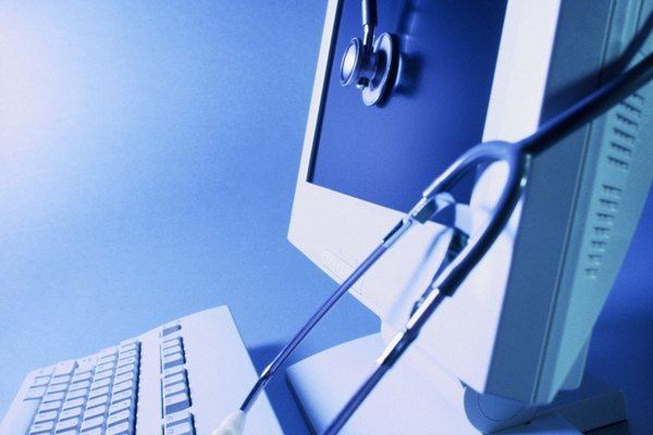Viruses can make computers sick and in need of doctoring.