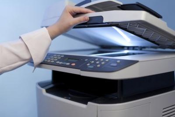 Your computer must have the copier's driver installed before scanning.