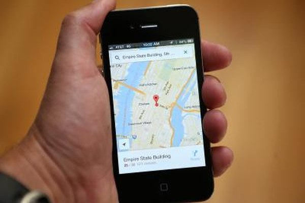 Map and navigation apps are the most common uses for location services.