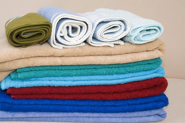 Colorful towels