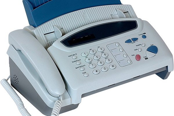 how to connect fax machine to computer