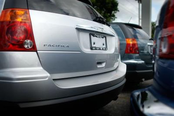 Although discontinued in 2008, the Chrysler Pacifica remains a feature-rich SUV.