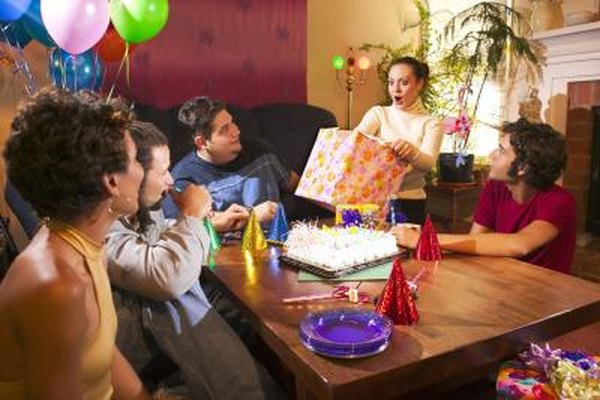 You can keep Facebook events private if you're planning a surprise party.