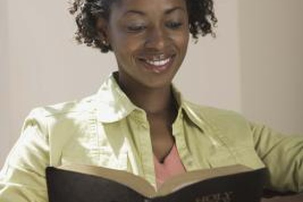 Many people find comfort and inspiration reading Bible verses daily.