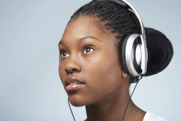 Outside or inside the ears, headphones can damage your hearing.