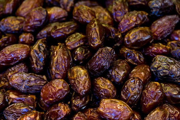 Close-up of raisins