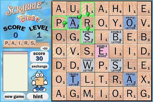 Scrabble Blast - Free Online Games - Wired Arcade