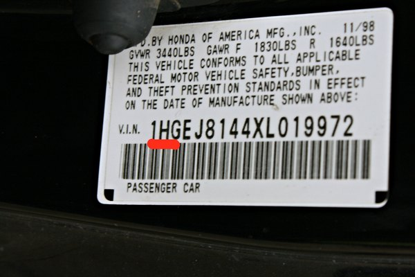 How Do I Read The Vin Number On Vehicles It Still Runs