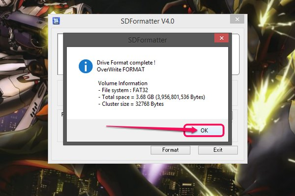 how to clear and reformat an sd card
