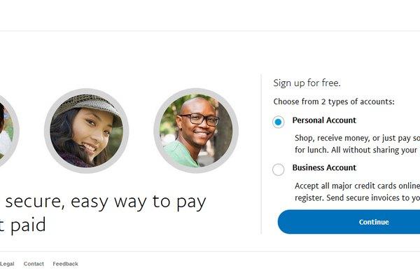 Compte personnel PayPal