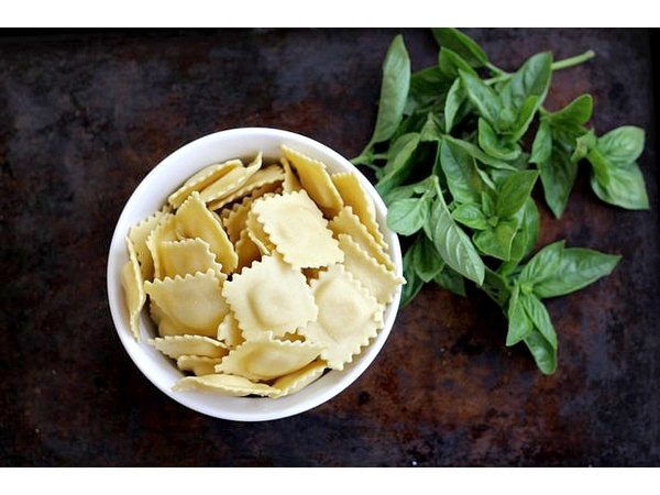Got picky eaters? Four cheese ravioli is always a crowd pleaser.