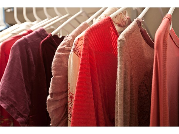 Avoid matching mishaps in the morning by grouping your clothing by type and color.