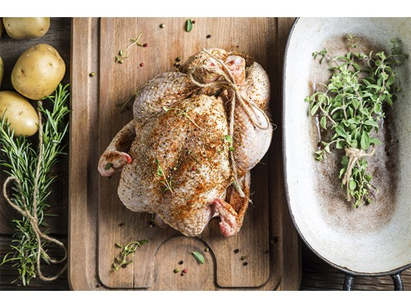 Experiment with using different herbs for simple dishes like roast chicken.