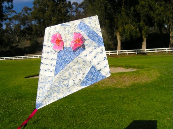 simple instructions to make a kite