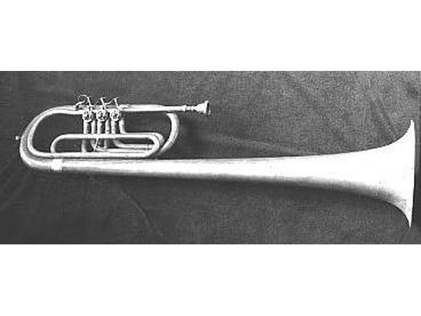 "This is an ""over-the-shoulder"" marching baritone horn."