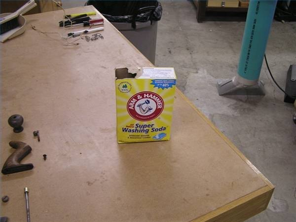 Arm & Hammer washing soda.