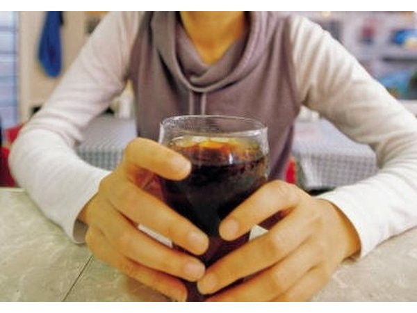 Soda is not a good substitute for milk or plain fruit juices.