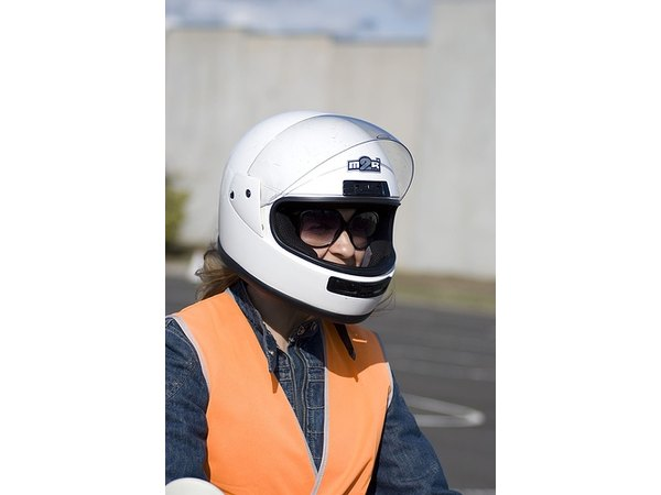 Most states require the use of helmets while riding a scooter.