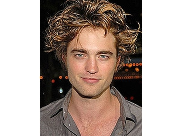 Actor Robert Pattinson's cheekbones and jawline suggest an ample amount of the hormone.