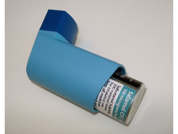 Inhalers can be used to release symptoms associated with asthma.