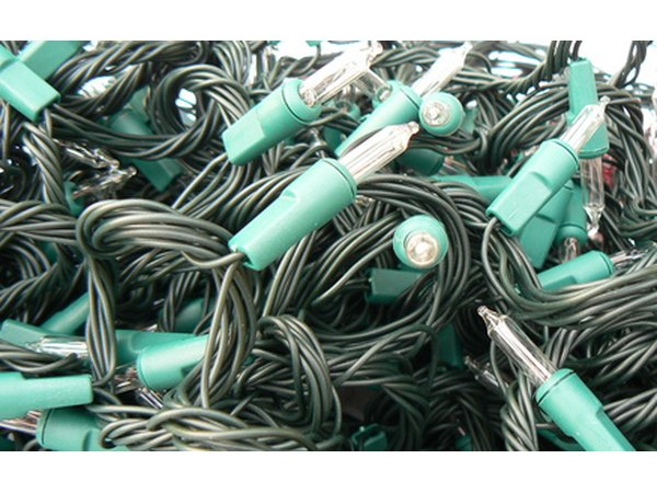 Separate each strand of lights when storing for next year.