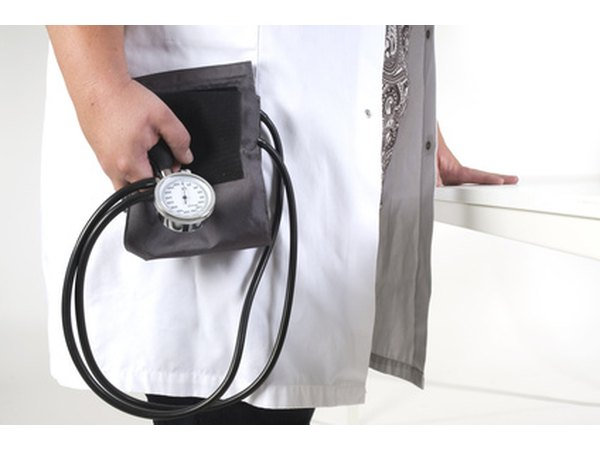 Blood pressure is measured more than once during life insurance testing.
