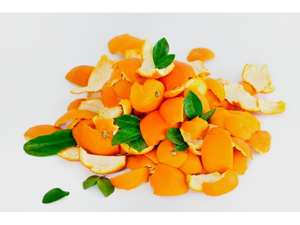 The oil of orange peels is thought to kill and repel termites.