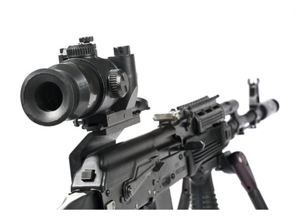 Many different types of optics are used throughout the United States Army.